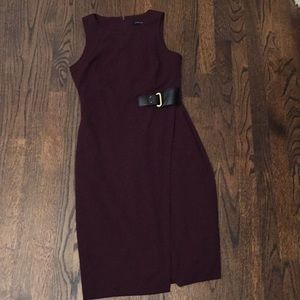 Ivanka Trump maroon wrap dress 4